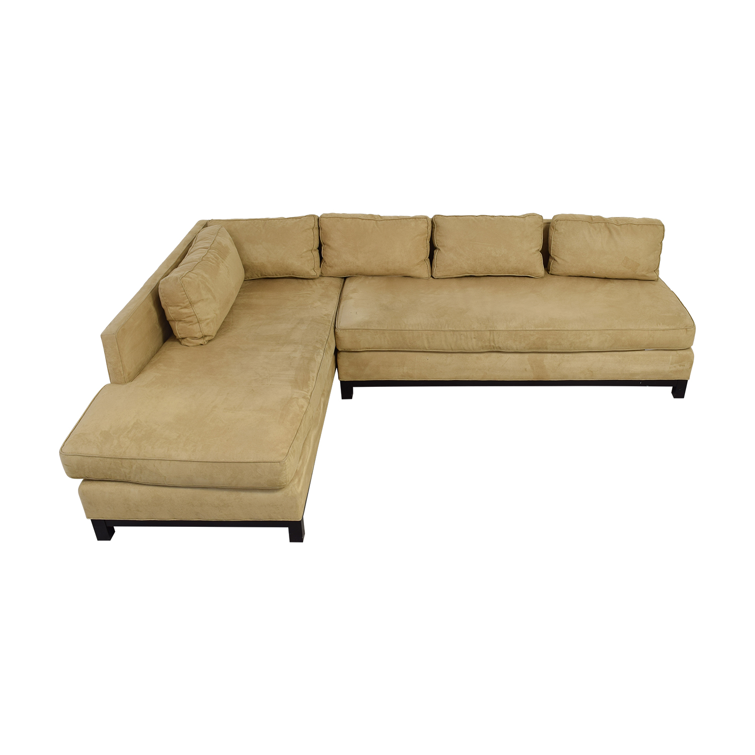 Mitchell Gold + Bob Williams Mitchell Gold + Bob Williams Clifton Beige Chaise Sectional nyc