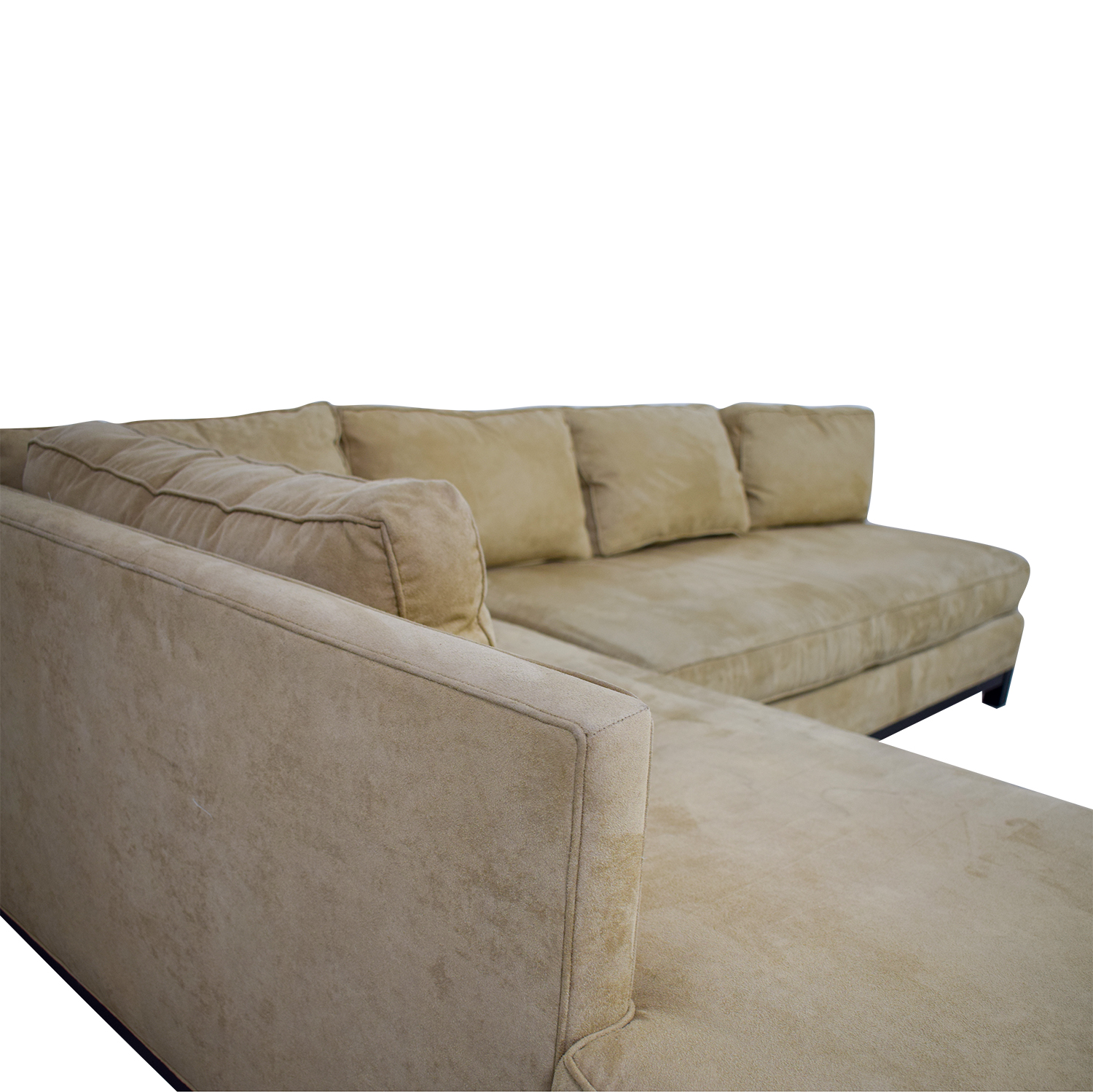 buy Mitchell Gold + Bob Williams Clifton Beige Chaise Sectional Mitchell Gold + Bob Williams Sofas