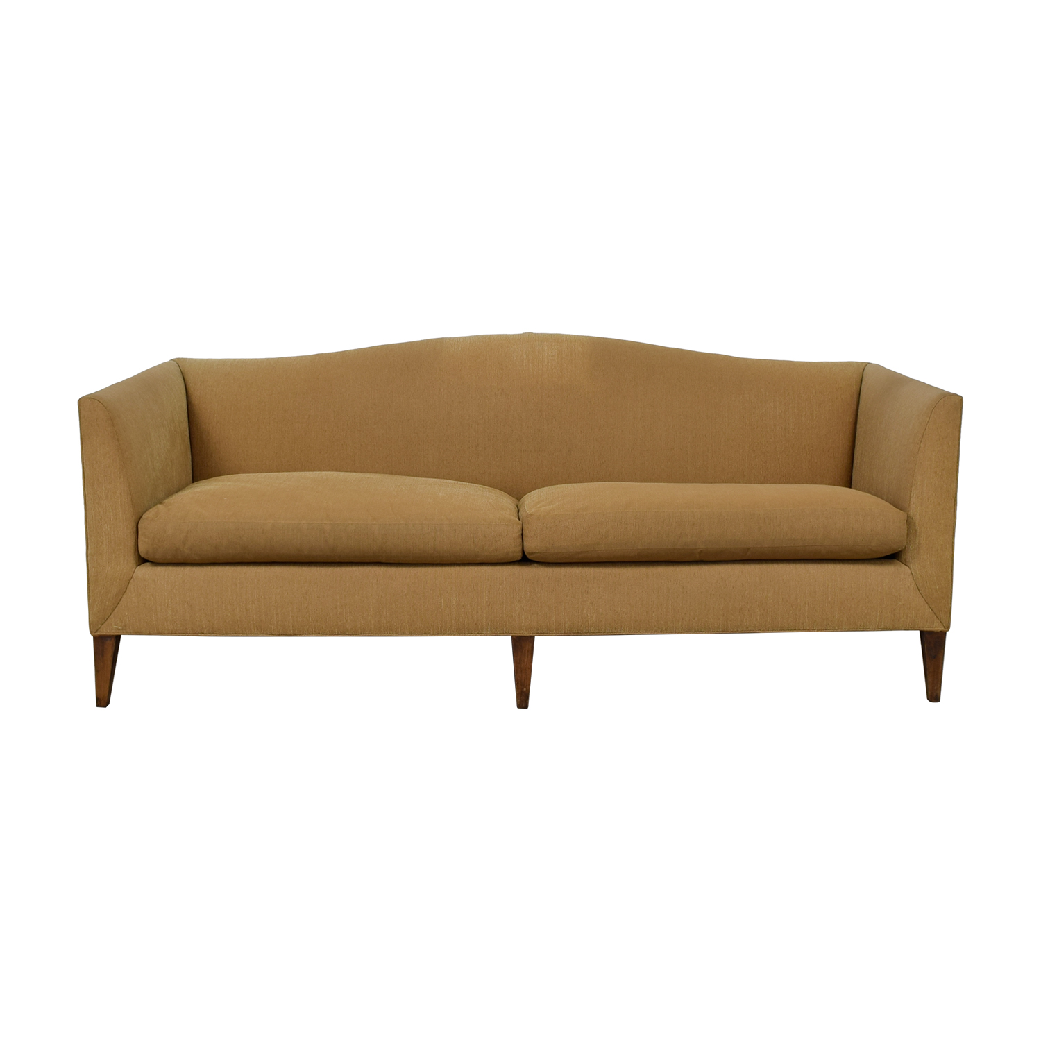 Baker Beige Two-Cushion Sofa / Classic Sofas