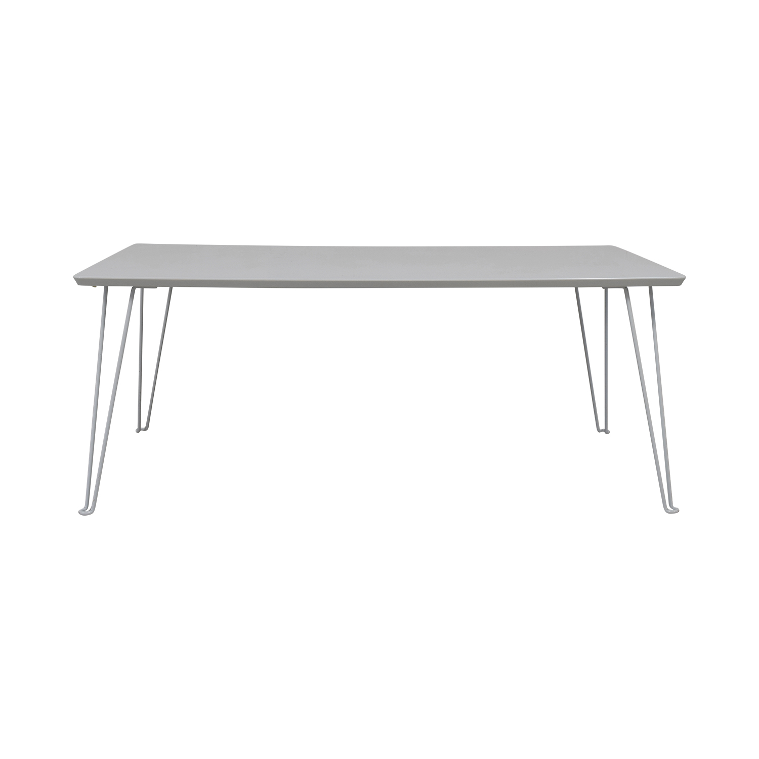 CB2 CB2 Bobby White Dining Table Dinner Tables
