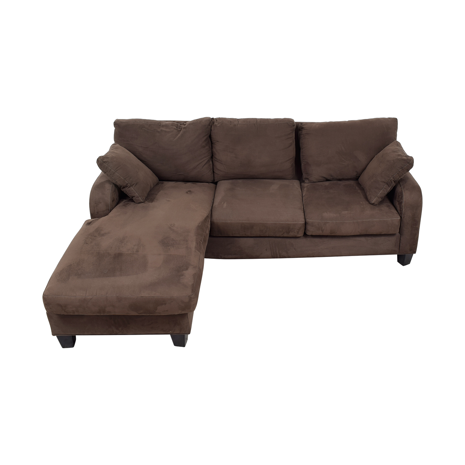 Cindy Crawford Cindy Crawford Brown Chaise Sectional chocolate