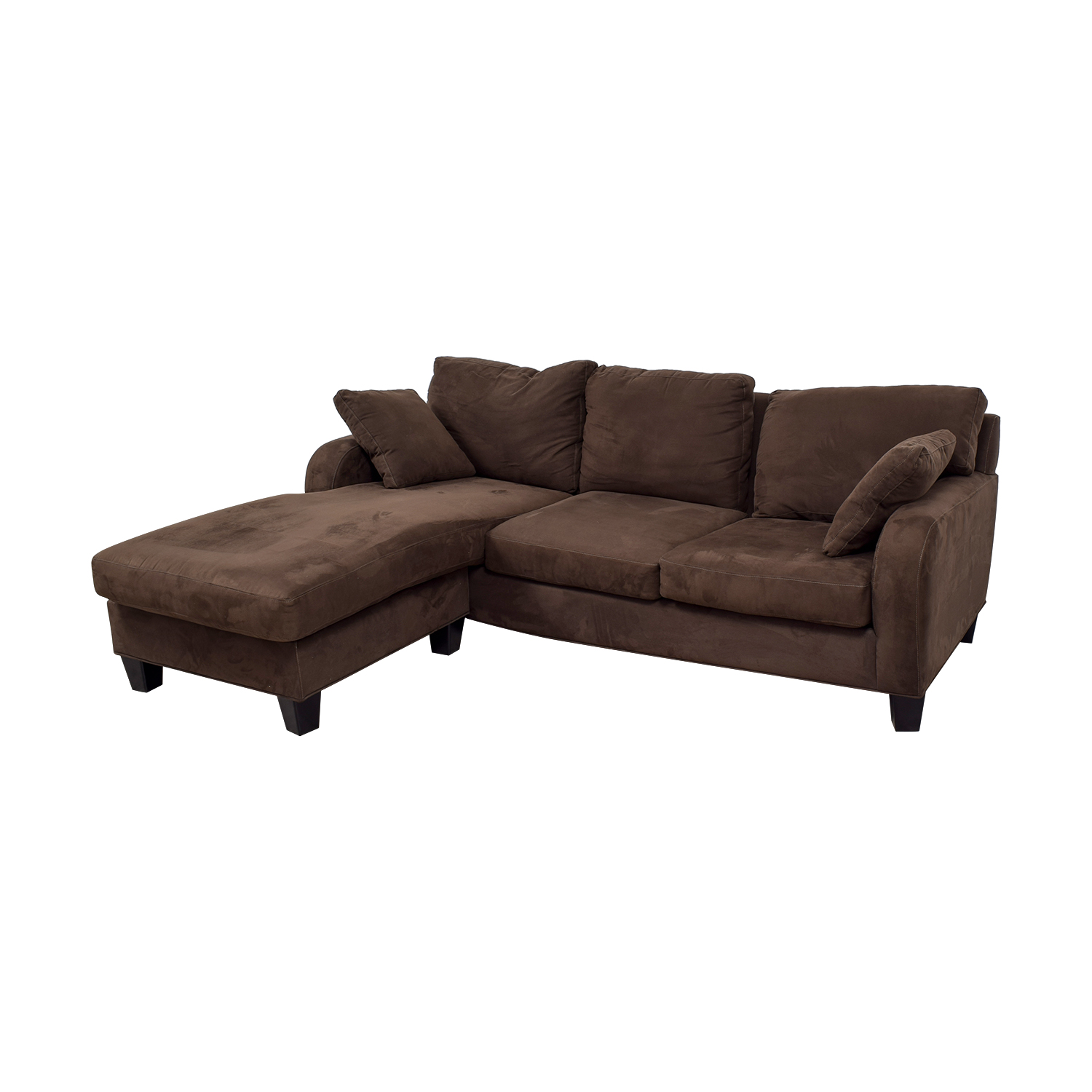 74% OFF - Cindy Crawford Cindy Crawford Brown Chaise ...