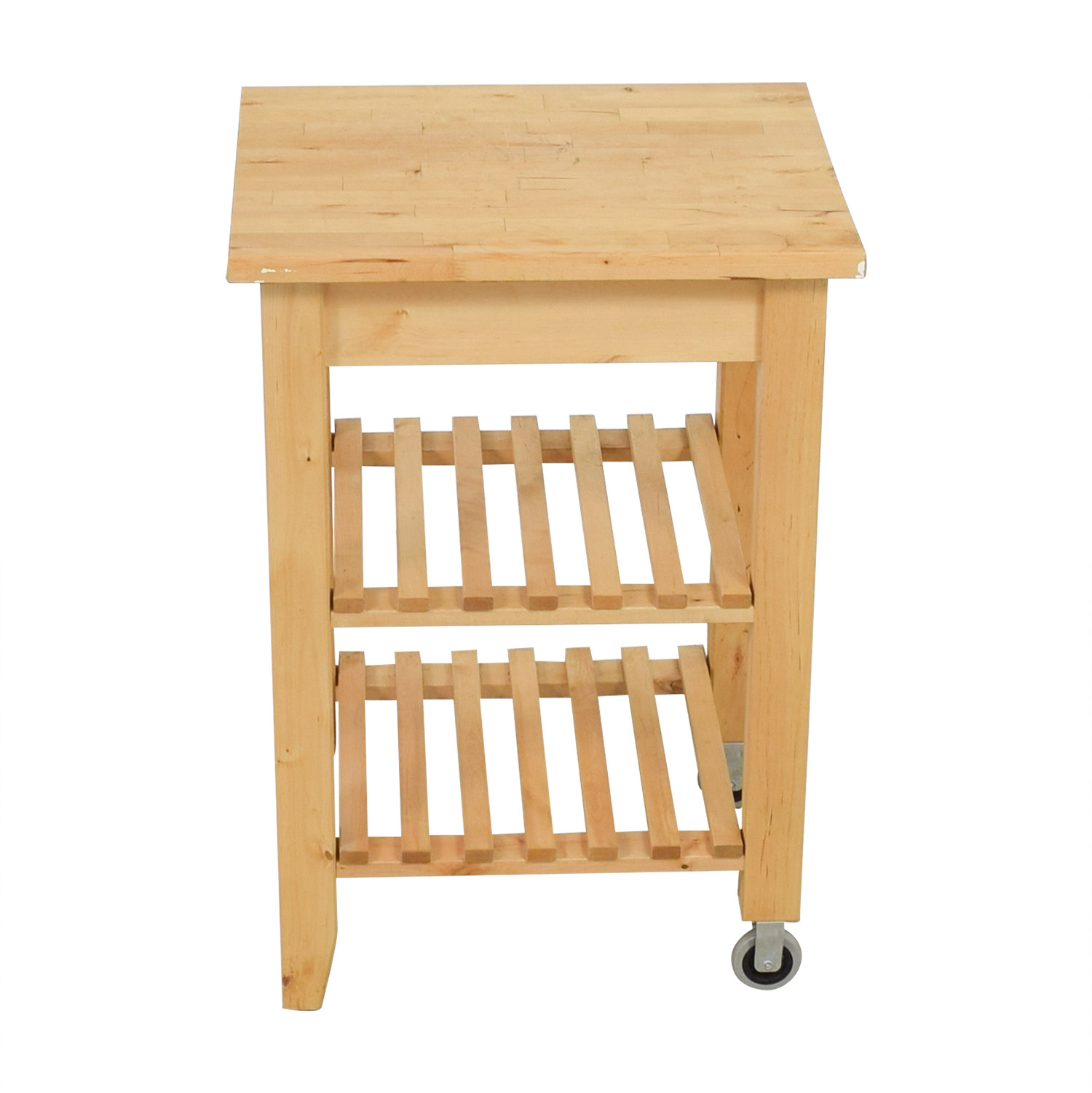 IKEA IKEA Natural Kitchen Cart used