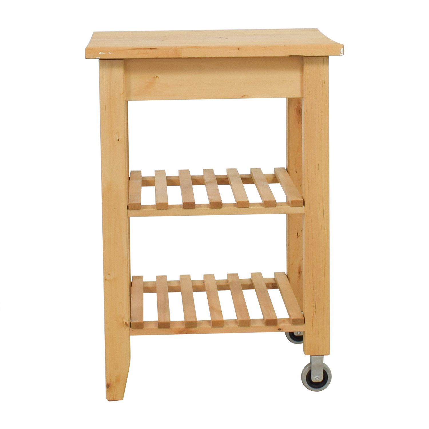Ikea ikea natural kitchen cart