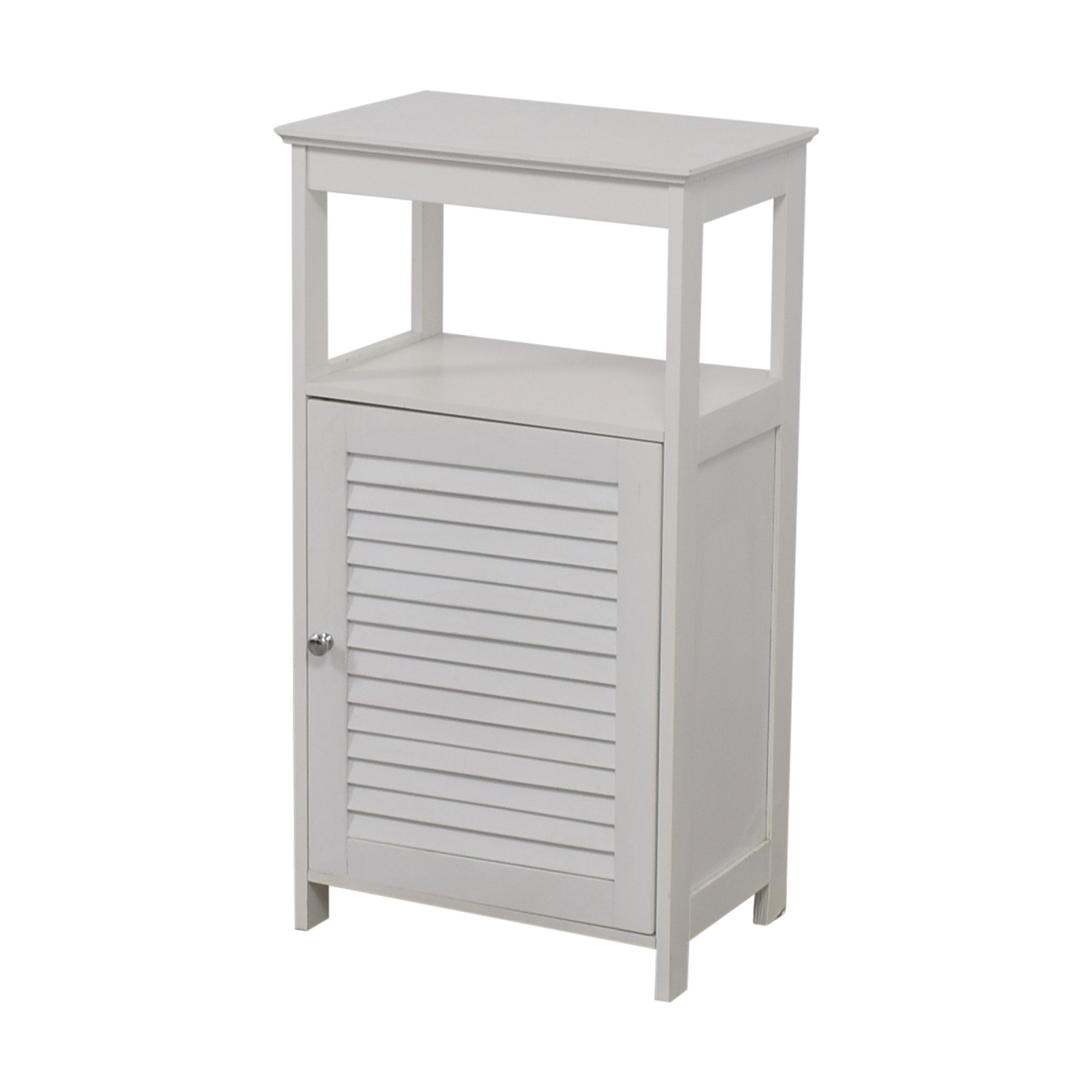 White Bathroom Cabinet / Storage