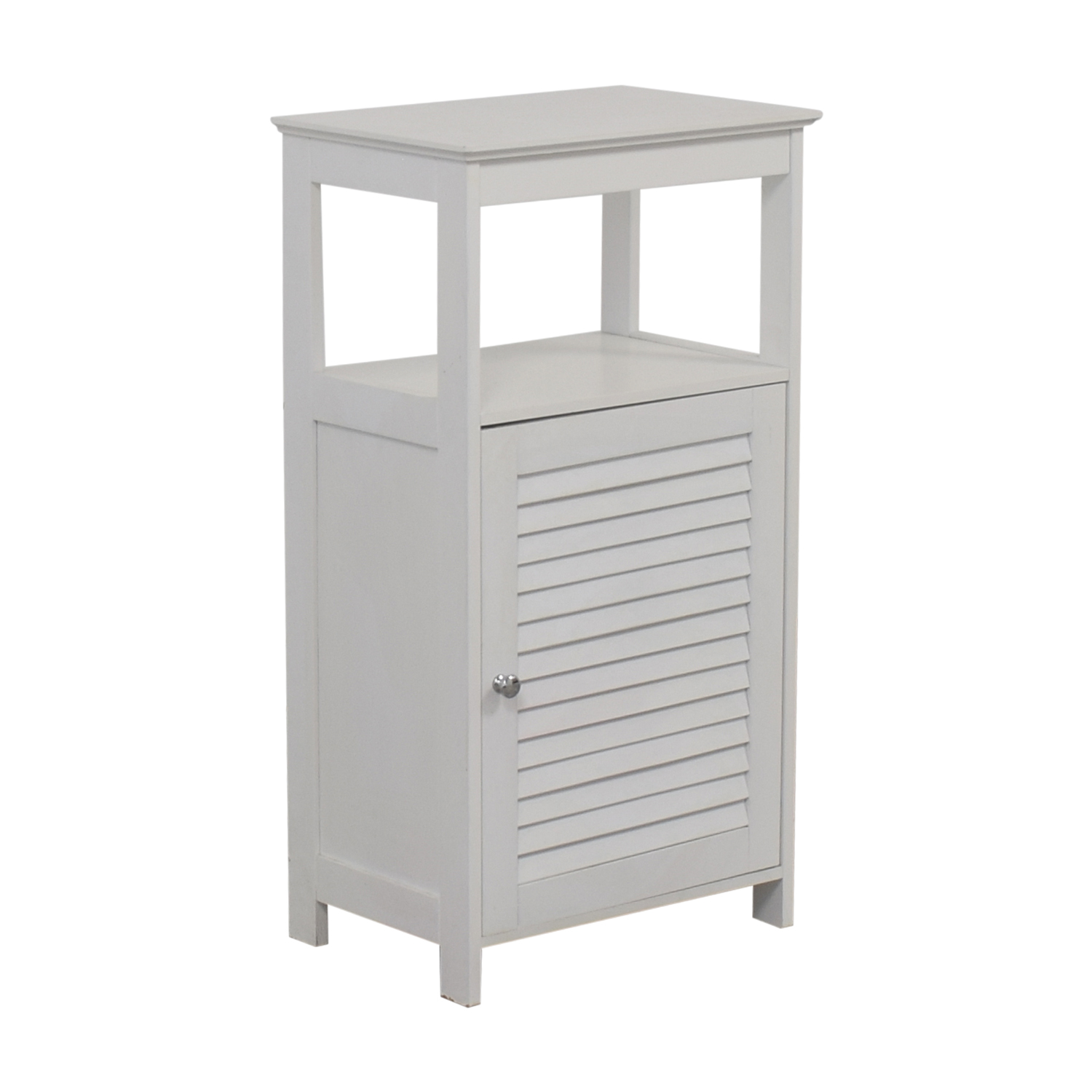 shop White Bathroom Cabinet  Bookcases & Shelving