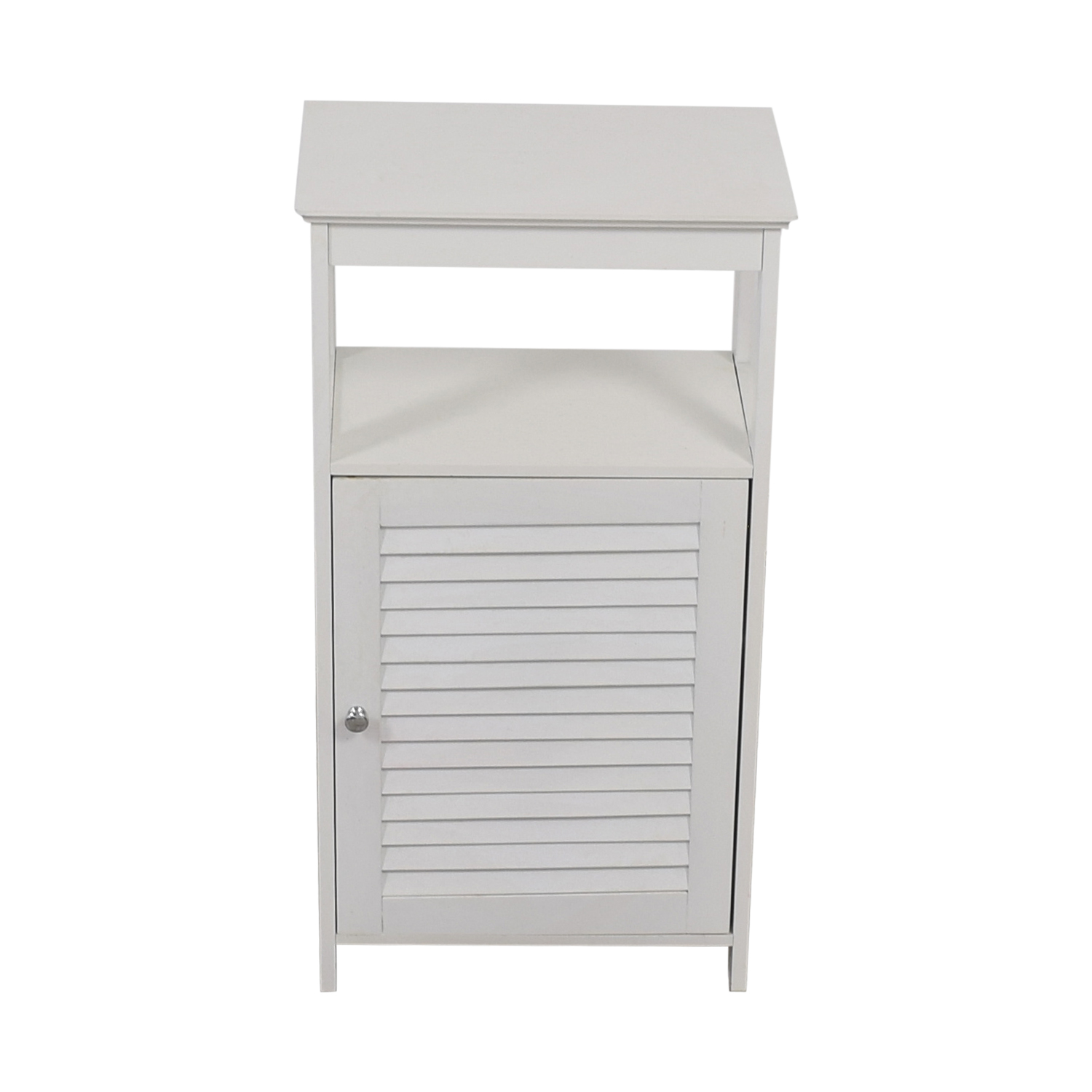 shop White Bathroom Cabinet  Storage