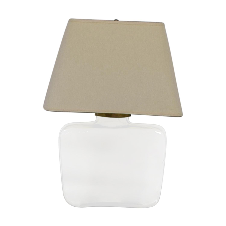 buy Pottery Barn Atrium Glass Table Lamp Pottery Barn Lamps