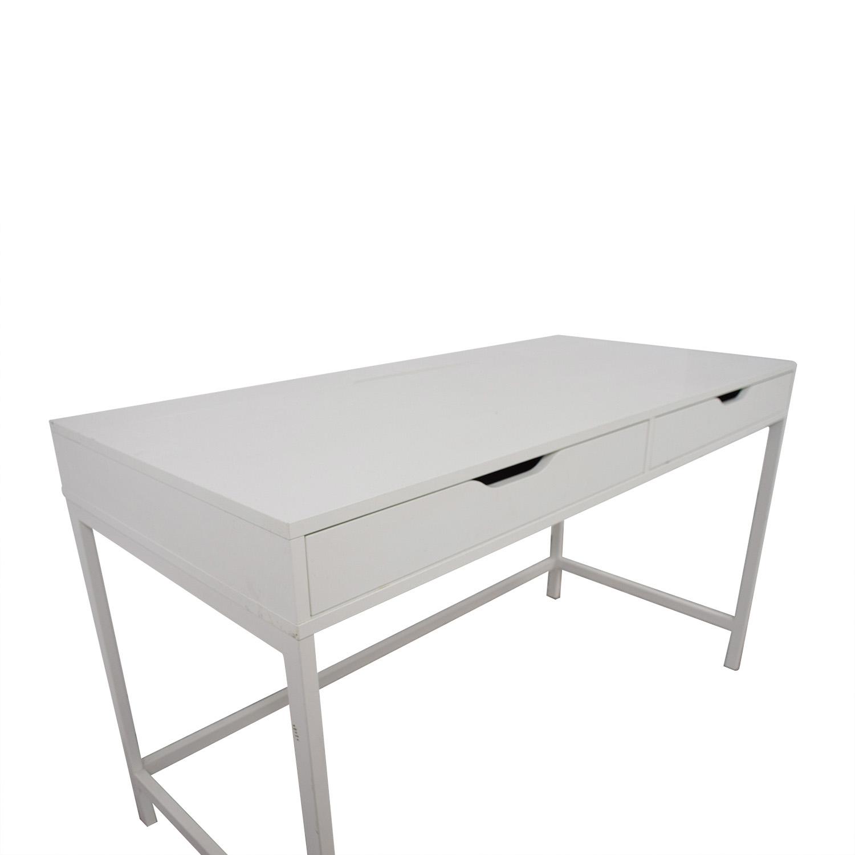 IKEA IKEA Alex White Two Drawer Desk / Tables