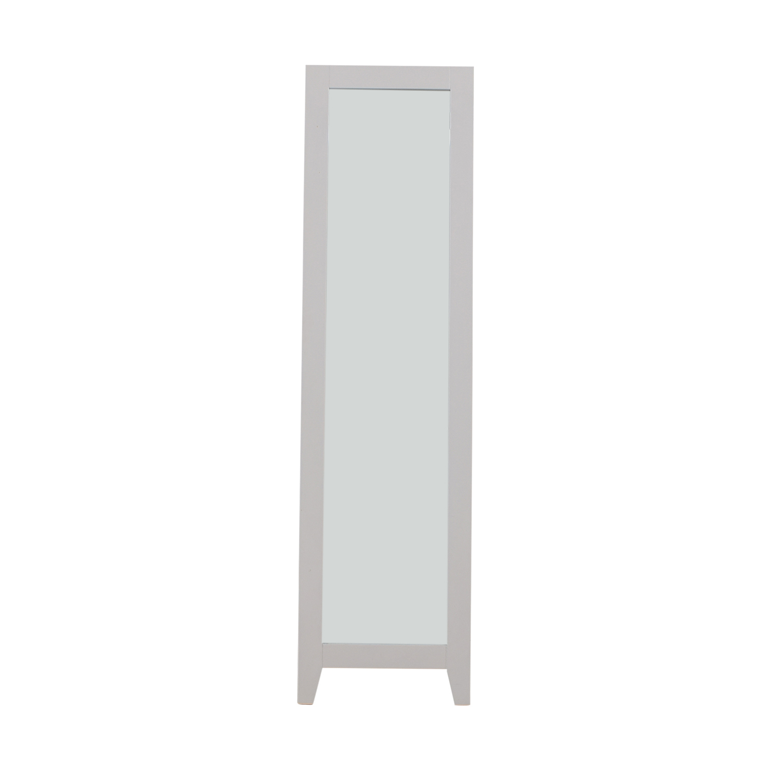 63% OFF - IKEA IKEA White Mirror / Decor