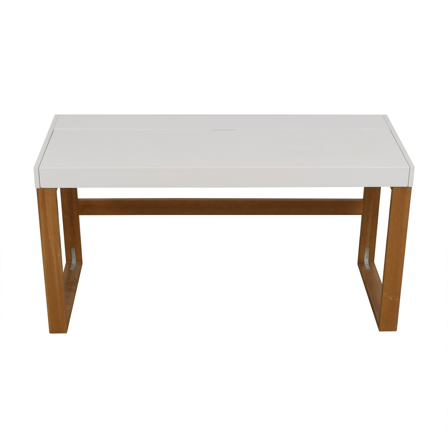 buy CB2 White Chamber Desk CB2