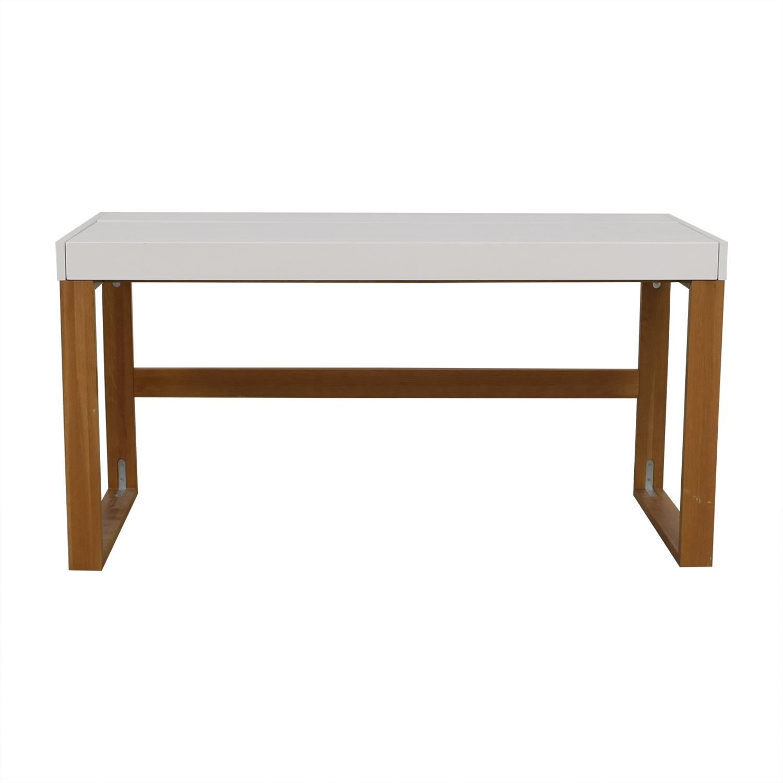 CB2 CB2 White Chamber Desk used