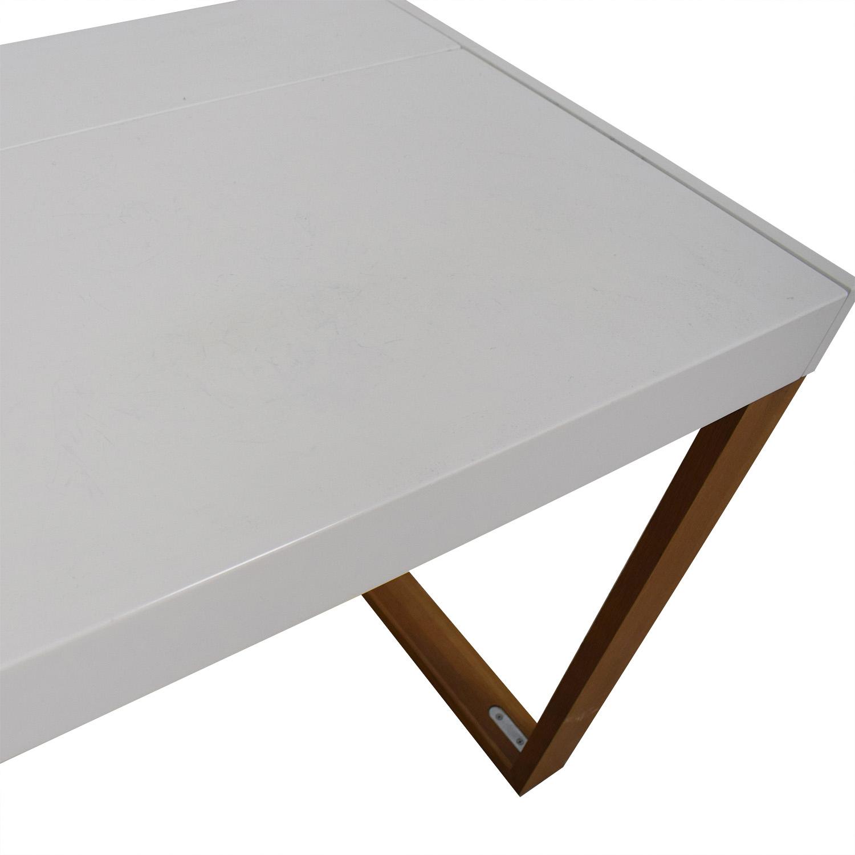CB2 CB2 White Chamber Desk nj