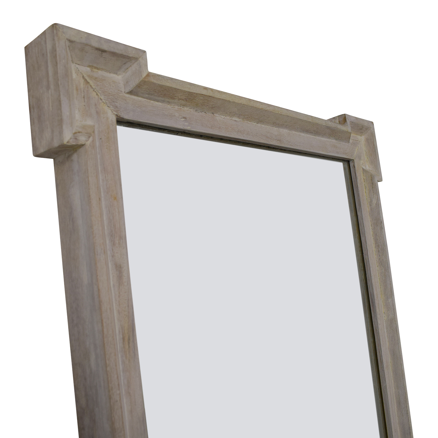 68% OFF - West Elm West Elm Cornerstone Floor Mirror / Decor