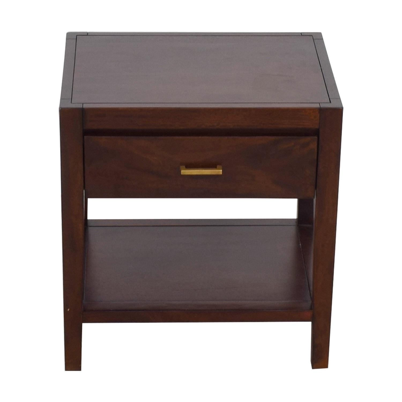 buy Crate & Barrel Dawson Clove Nightstand Crate & Barrel End Tables