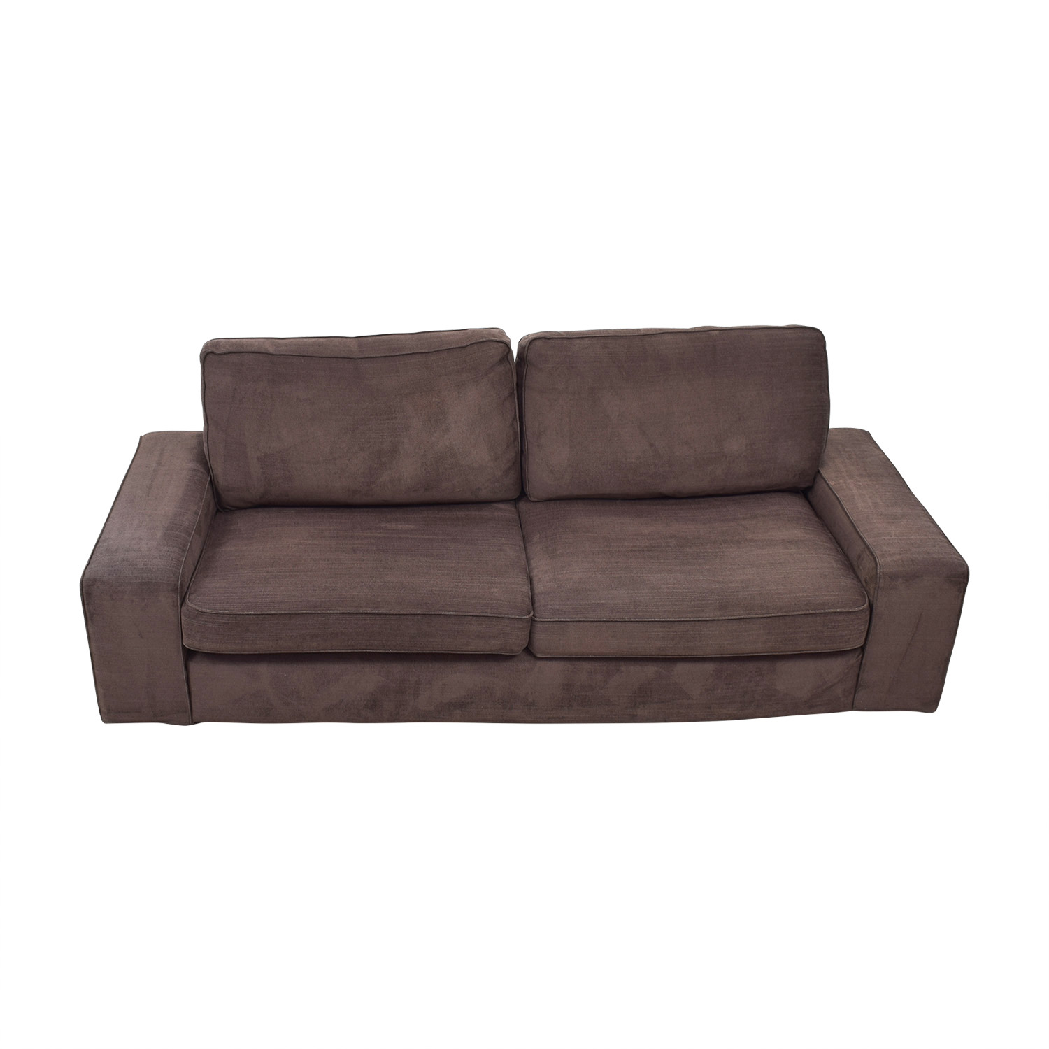 buy IKEA IKEA Kivik Brown Two-Cushion Sofa online