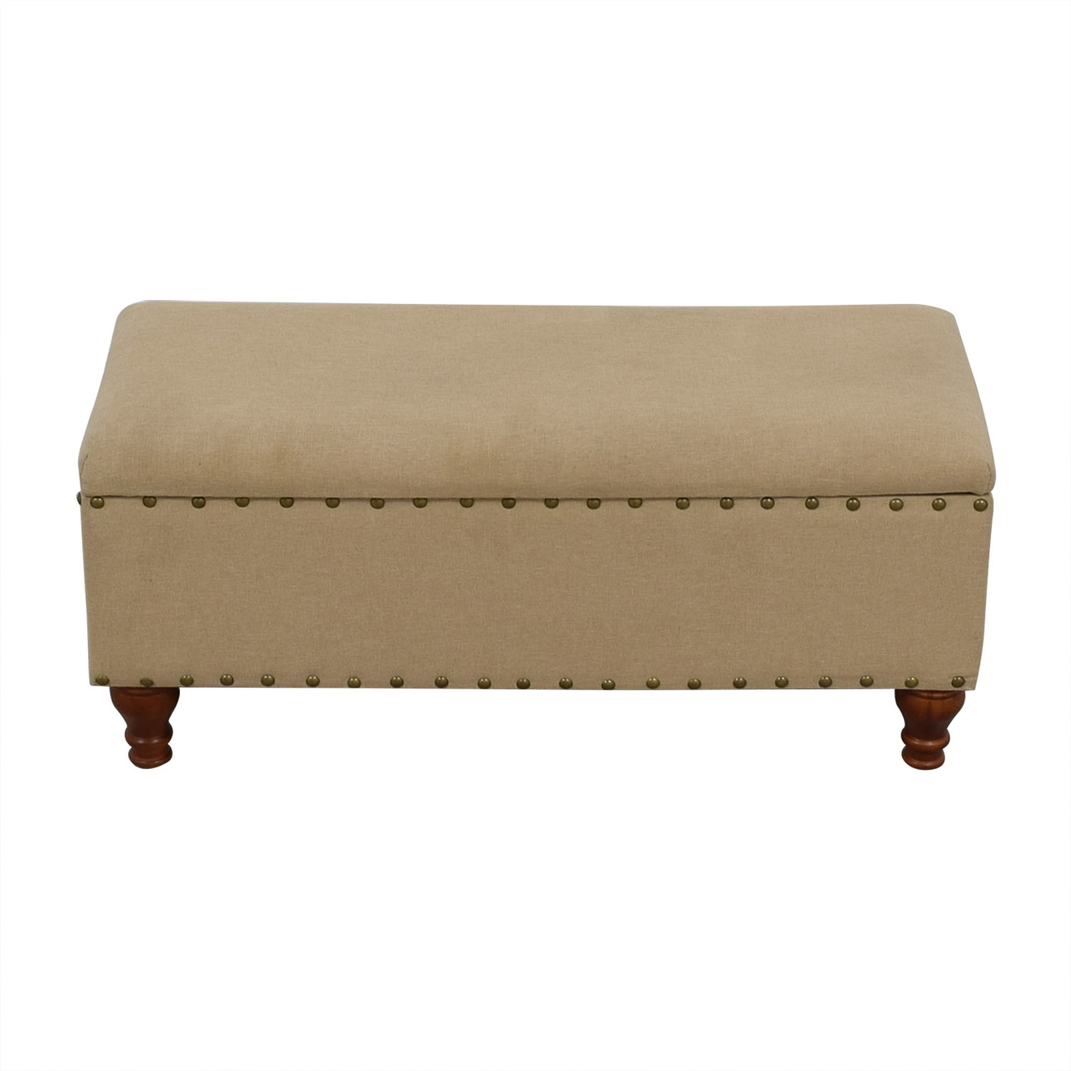 Lattimer Upholstered Storage Bench Three Posts