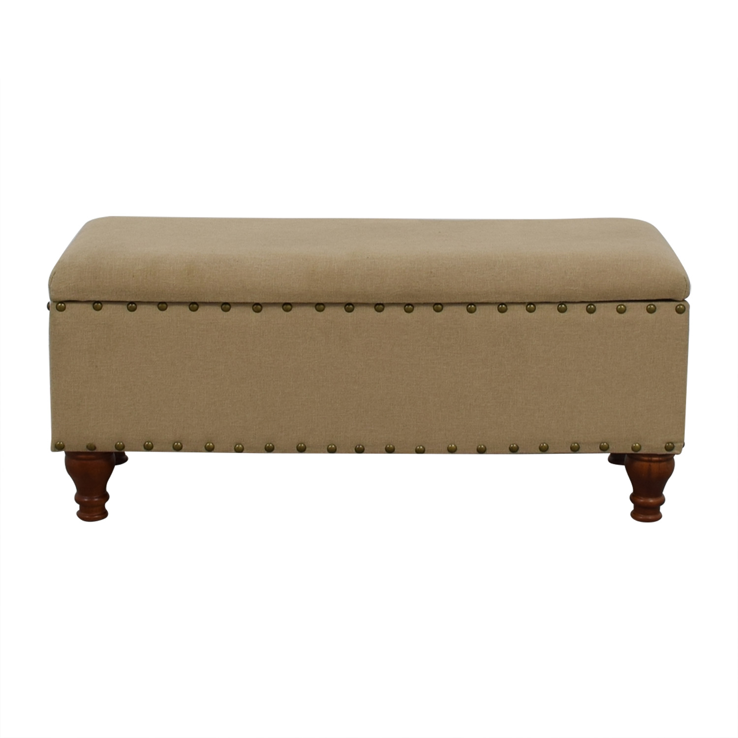 shop Lattimer Upholstered Storage Bench Three Posts