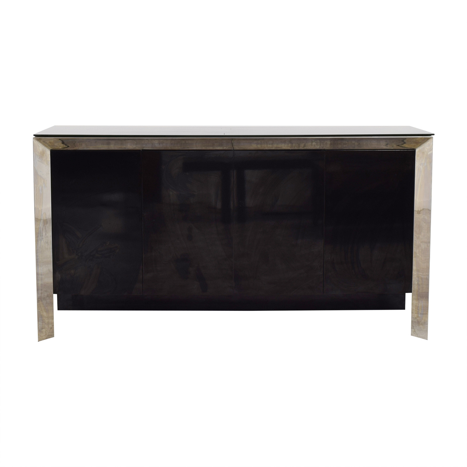 Creative Furniture Creative Furniture Vanda Black and Silver Buffet used