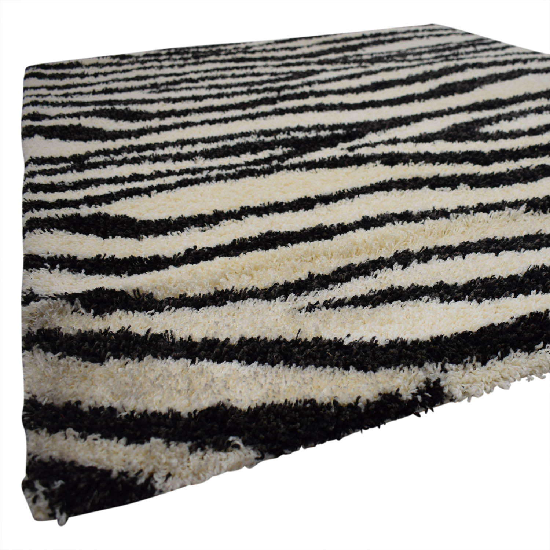 Kalora Kalora Shaggy Zebra Rug price