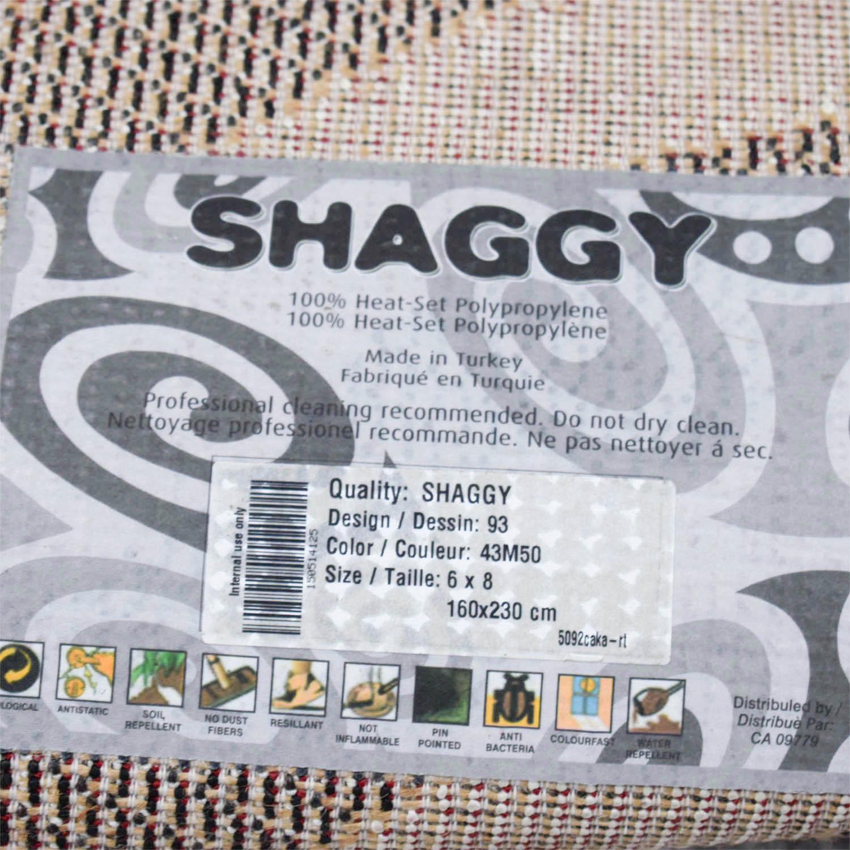 shop Kalora Shaggy Zebra Rug Kalora