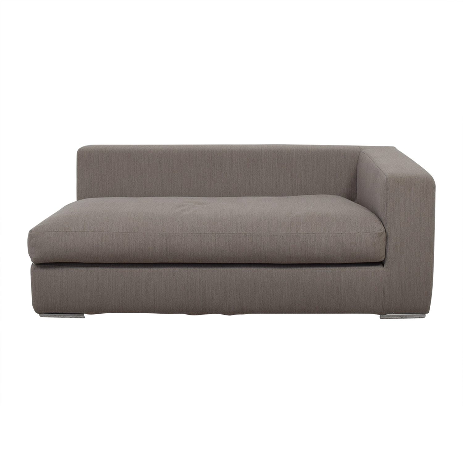 shop Toscanova Custom Mood Grey Sofa Section Toscanova