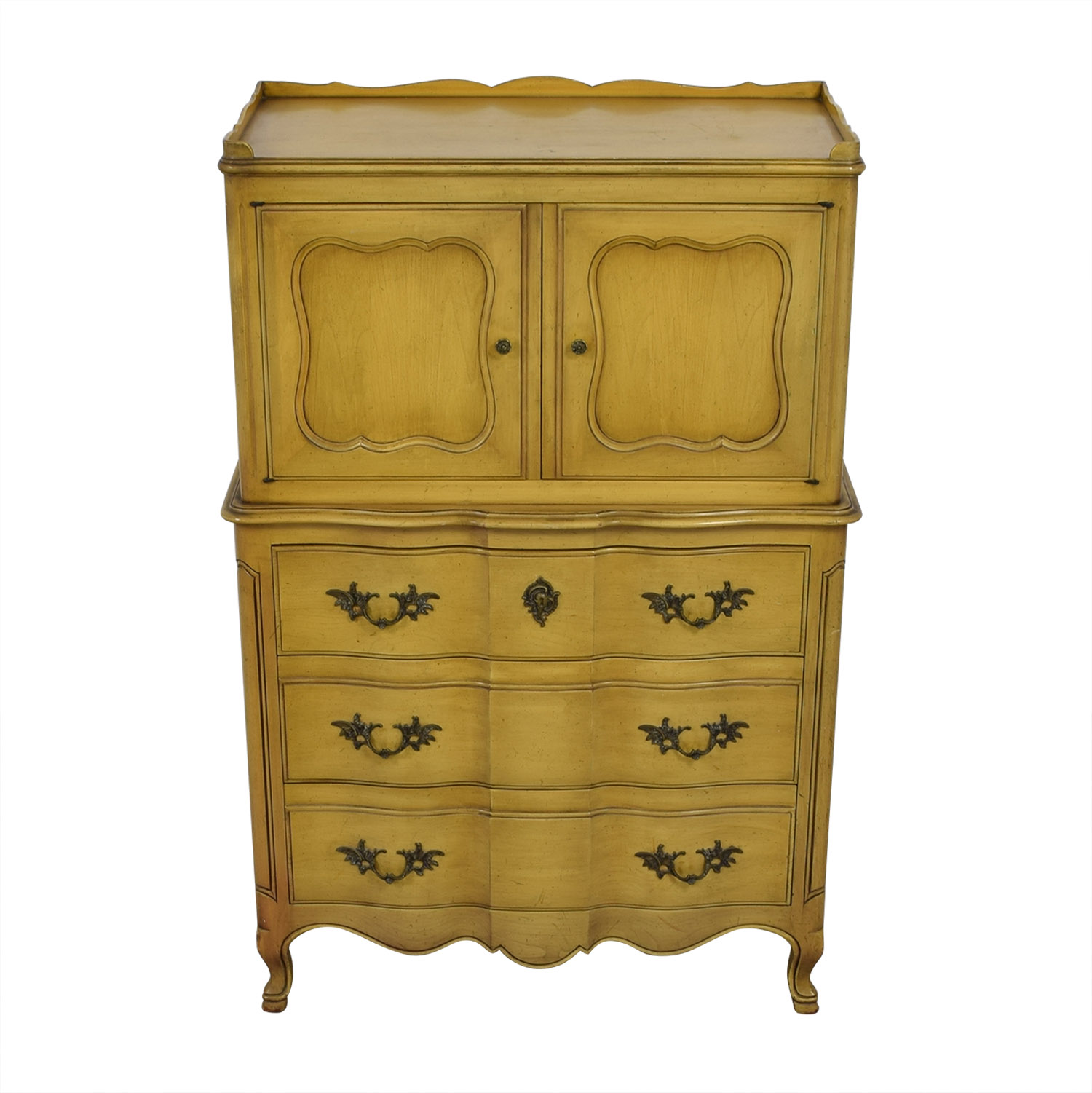 John Widdicomb John Widdicomb Yellow Six-Drawer Armoire price