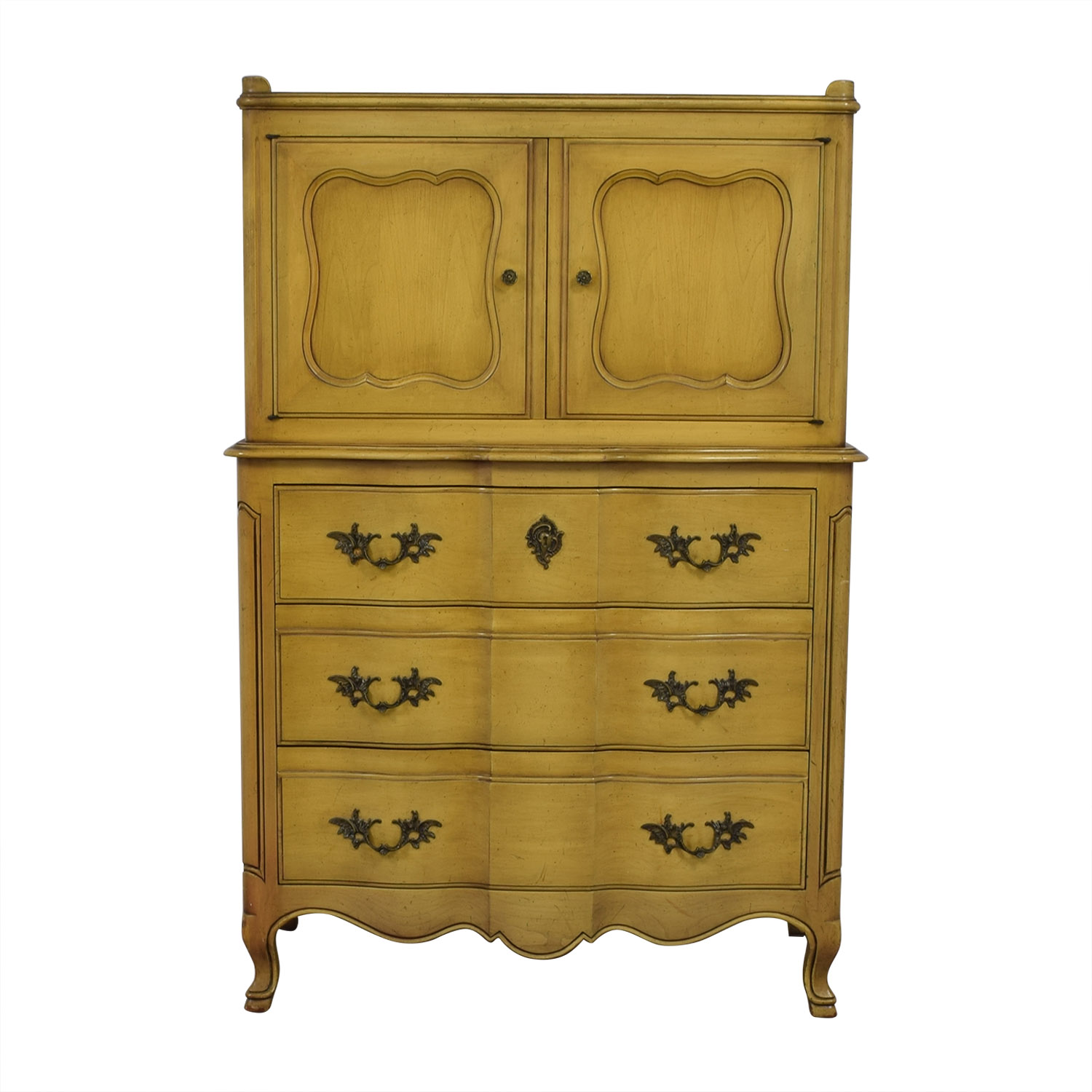 John Widdicomb John Widdicomb Yellow Six-Drawer Armoire yellow