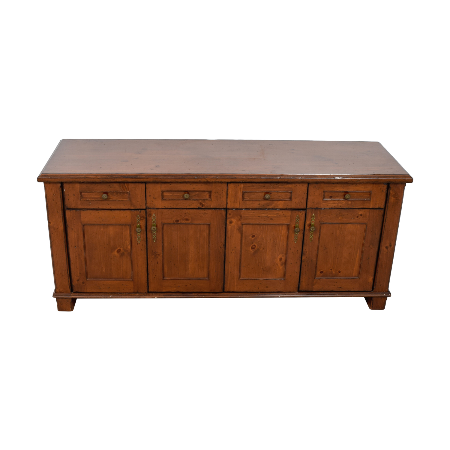 Custom Wood Buffet with Four-Drawer and Storage price