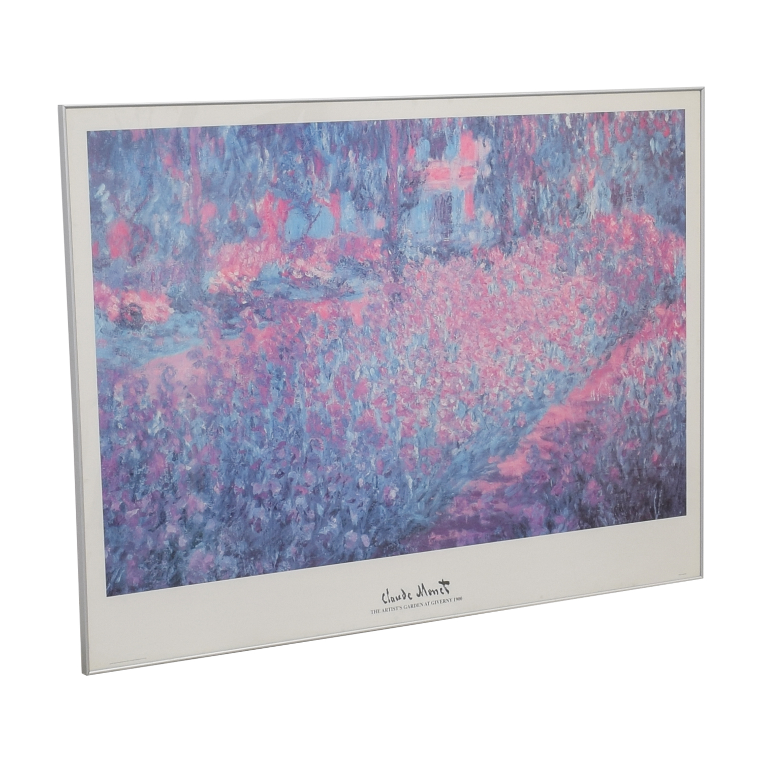 Claude Monet The Artist's Garden Poster nj