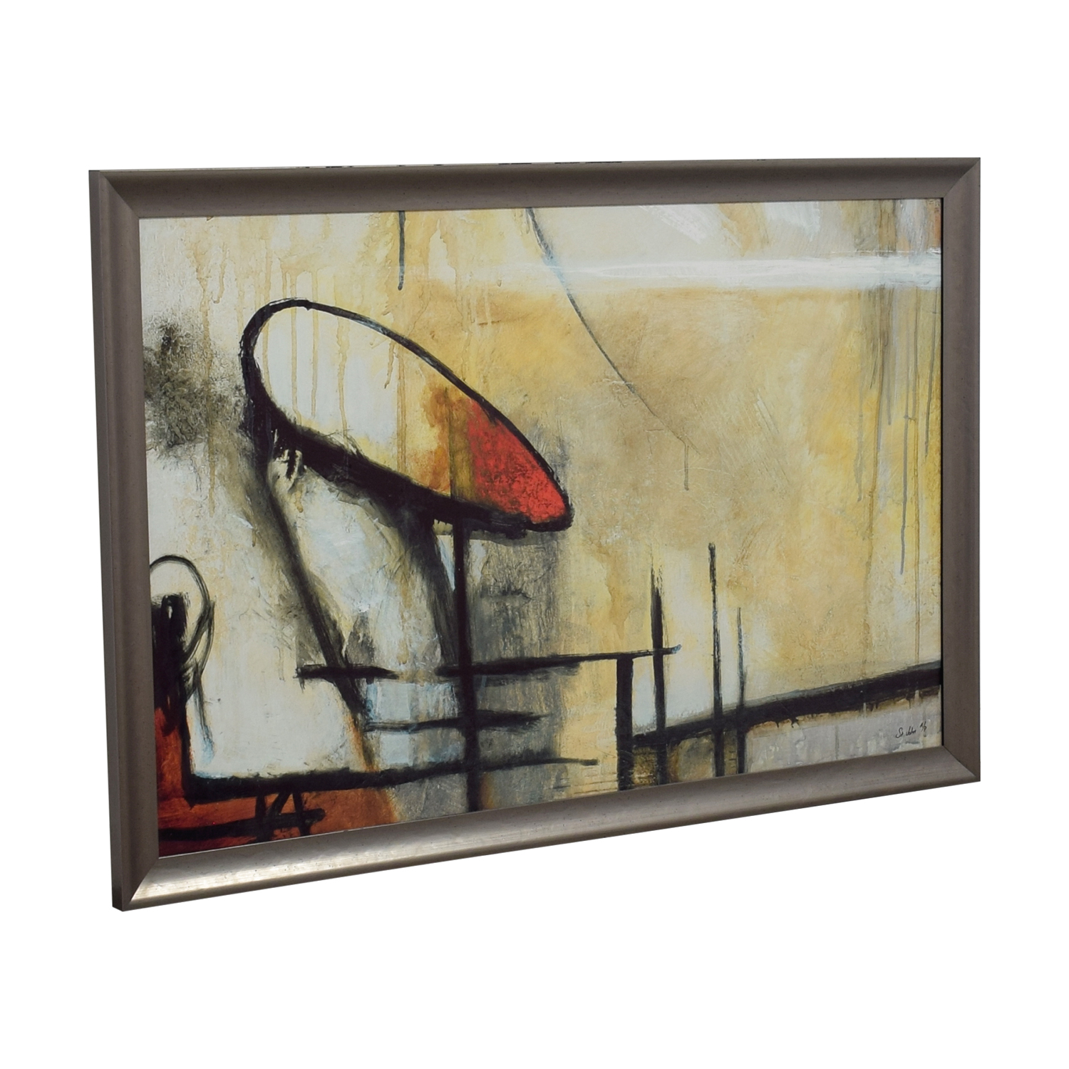 New Era Fine Art Publishing New Era Fine Art Abstract Taupe / Multi