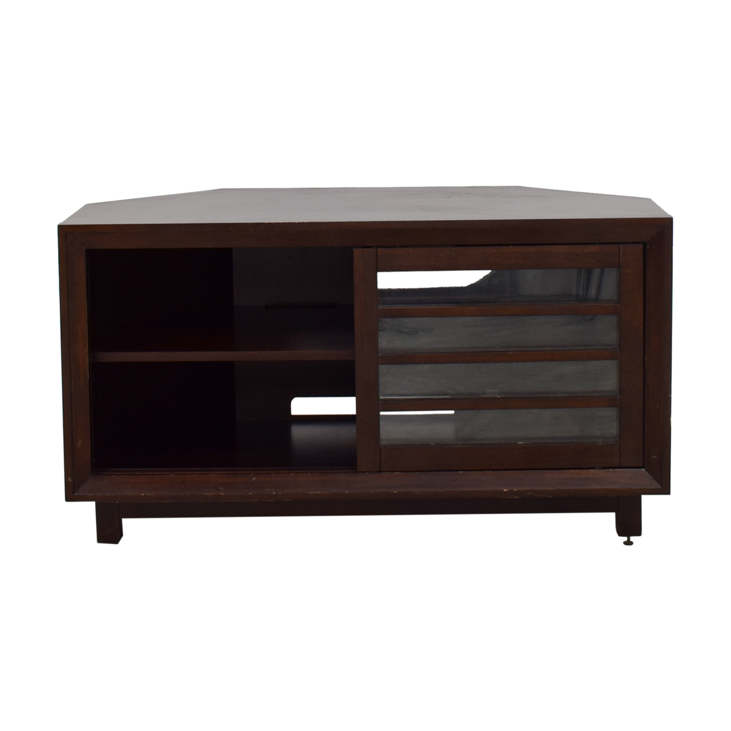 shop  Solid Wood Corner Media TV Stand online