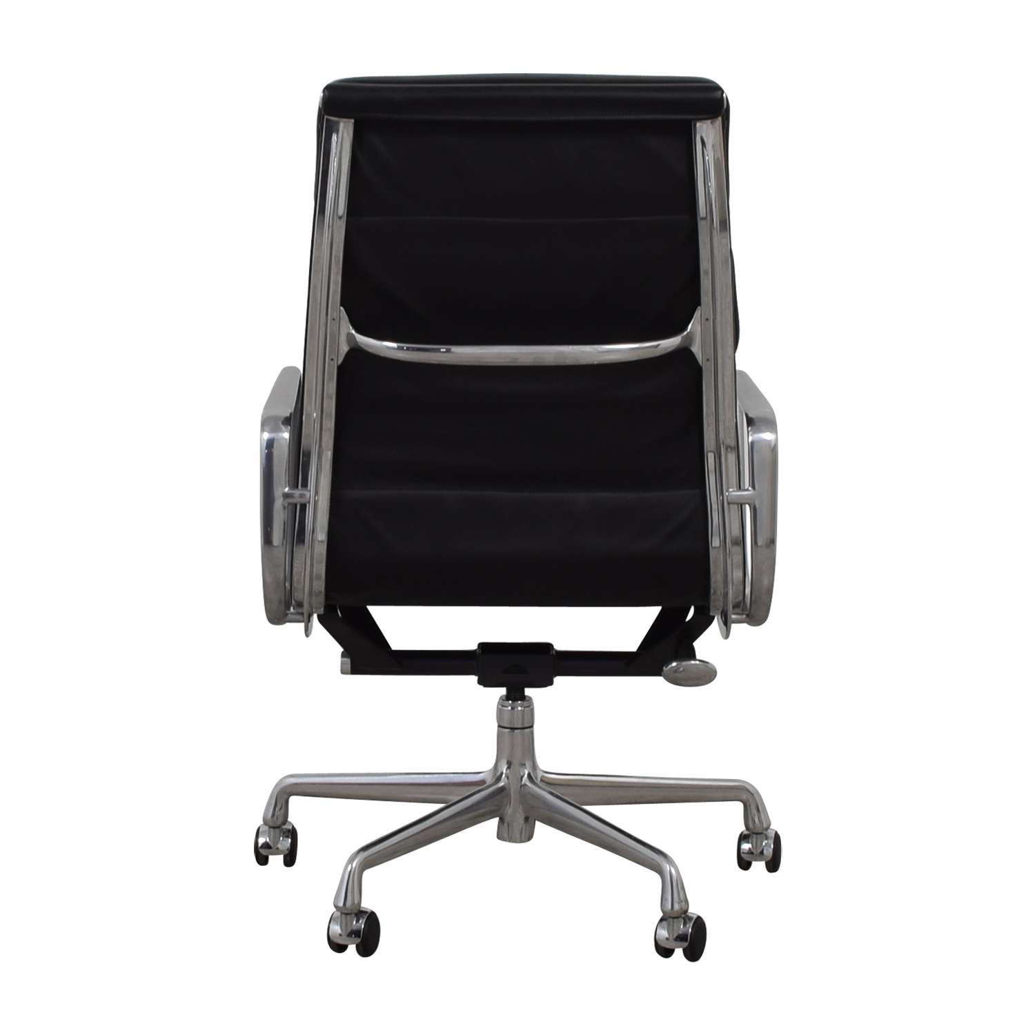 Eames Softpad Executive Black Leather Chair
