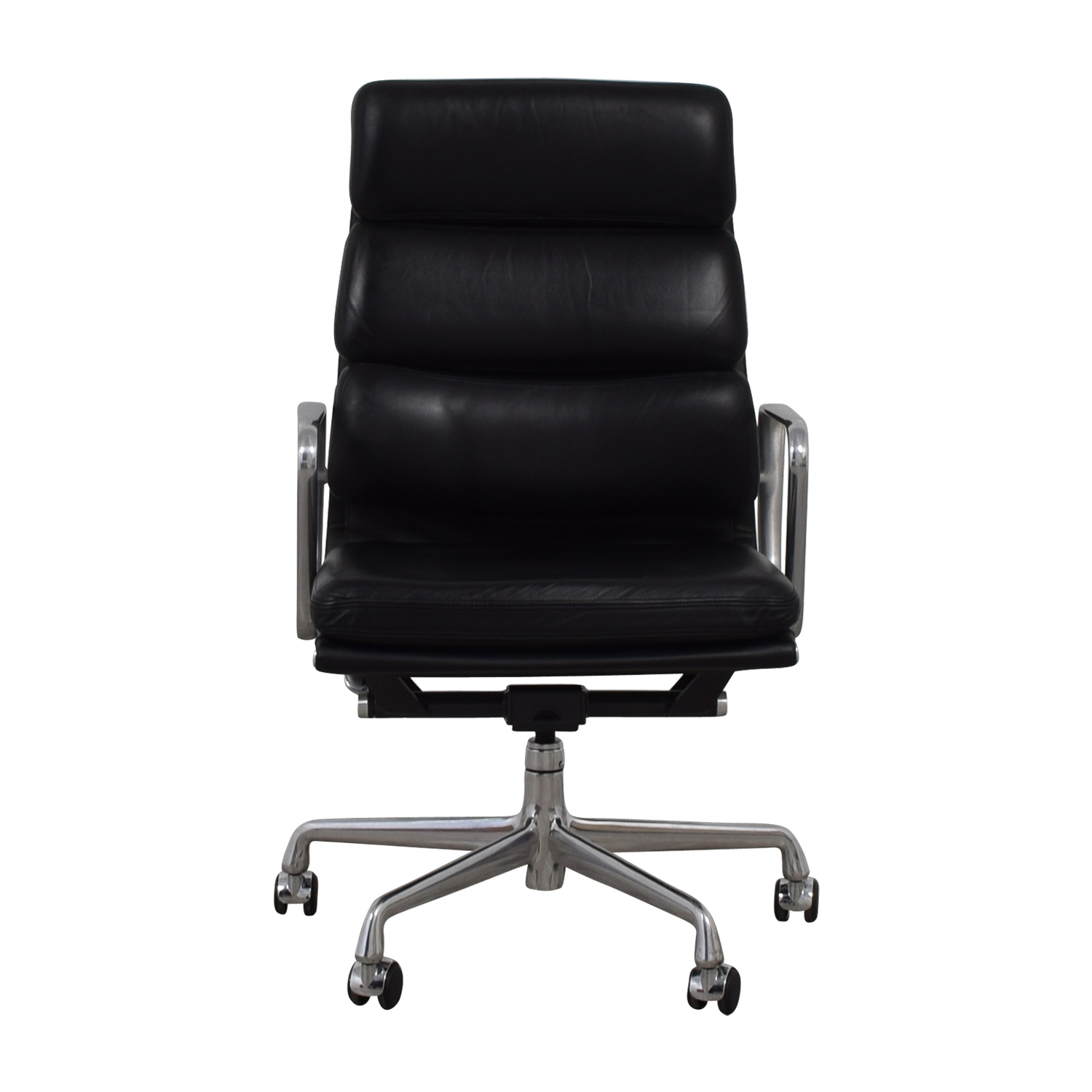 buy  Eames Softpad Executive Black Leather Chair online