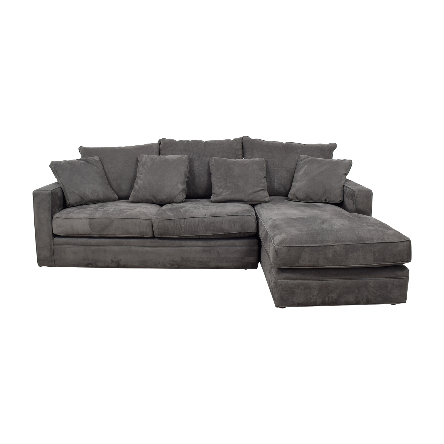 Room & Board Room & Board Grey Chaise Sectional price