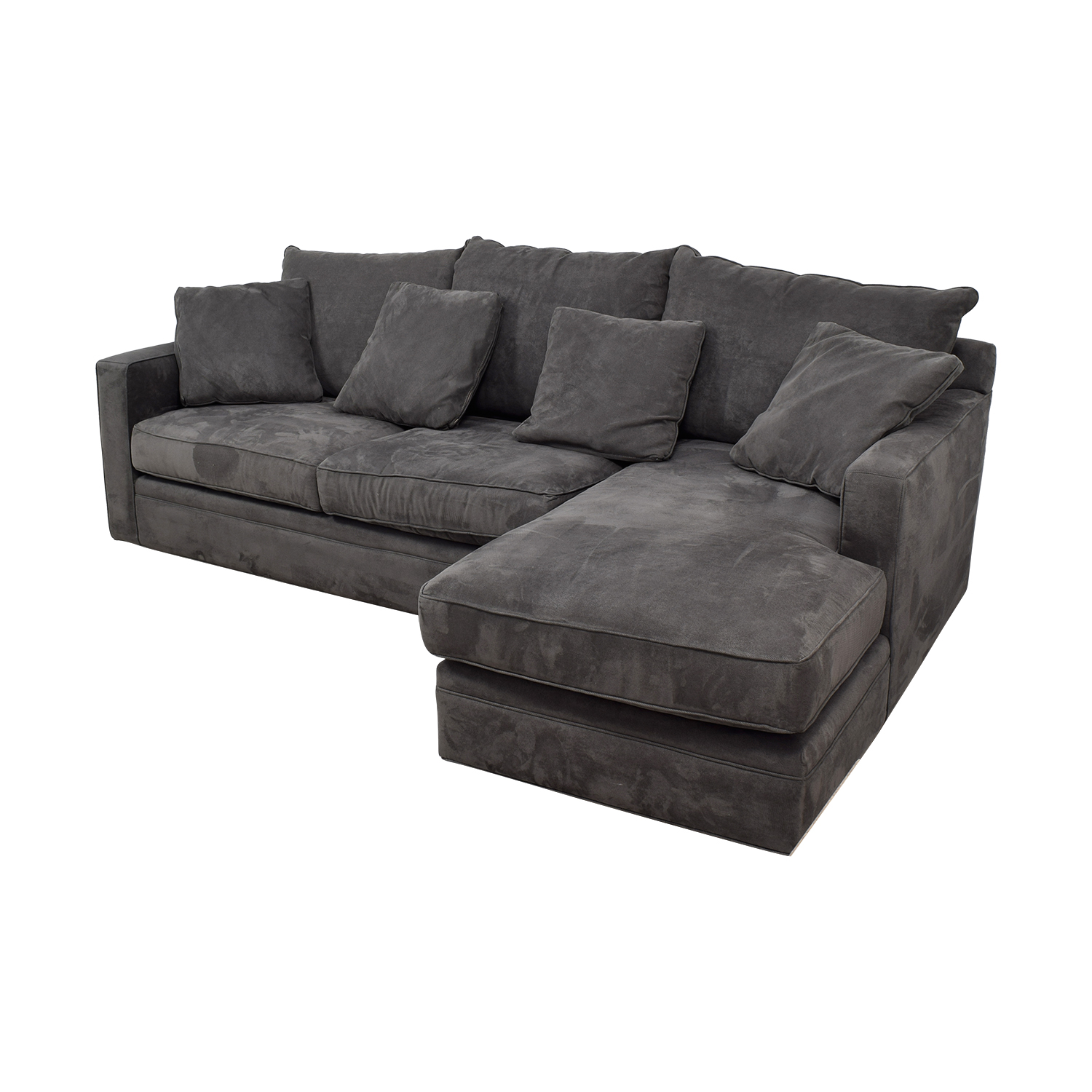 buy Room & Board Grey Chaise Sectional Room & Board Sofas