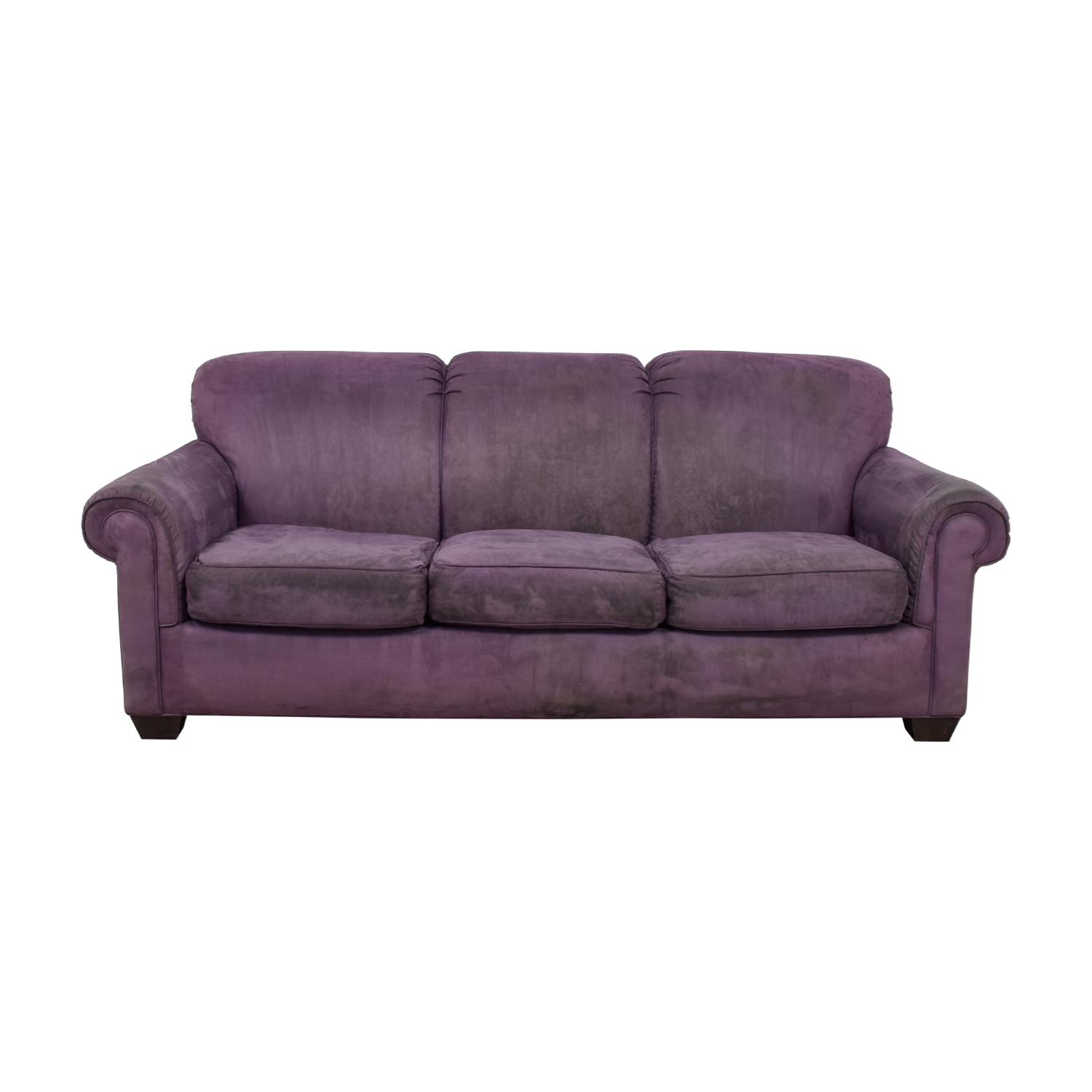 Rowe Rowe Purple Three-Cushion Sofa price