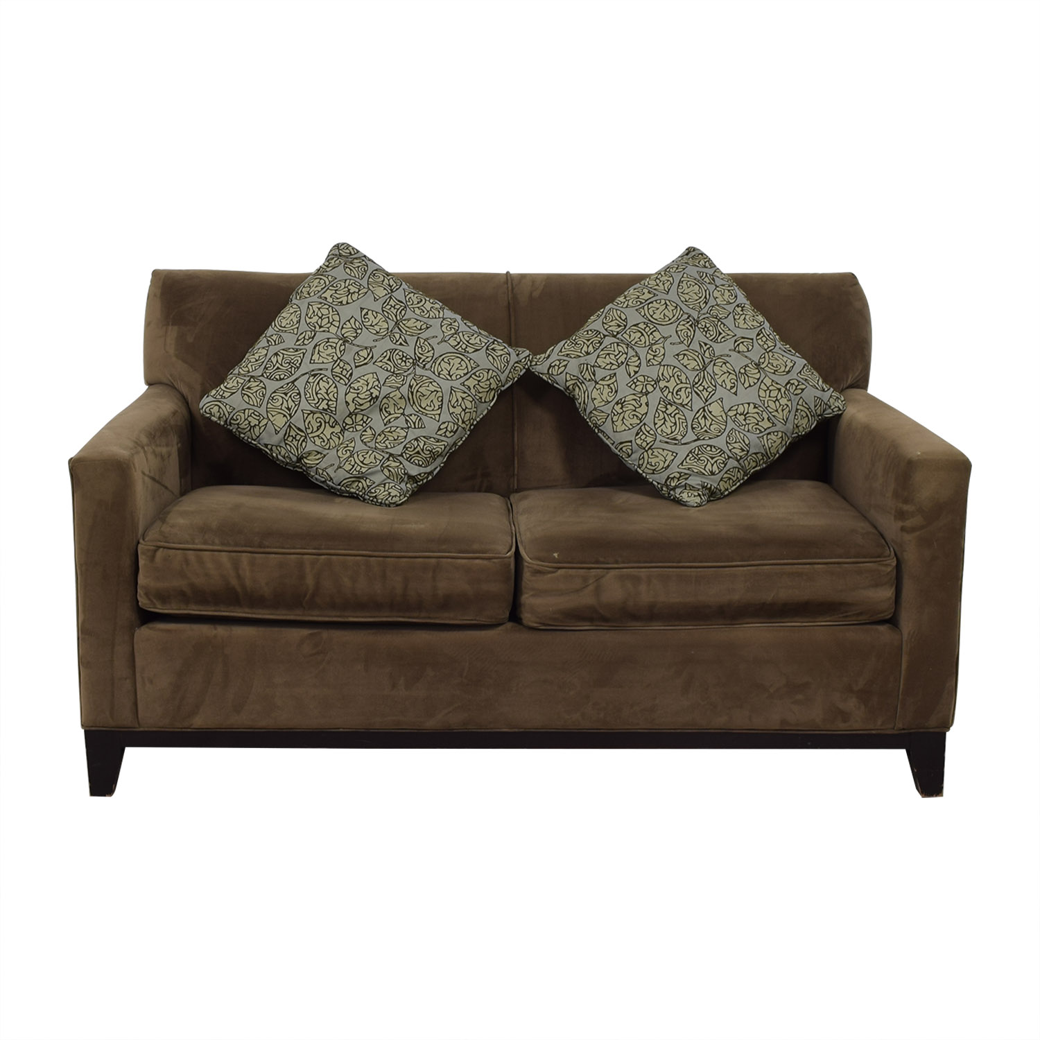 77 Off Rowe Furniture Martin Grey Loveseat Sofas