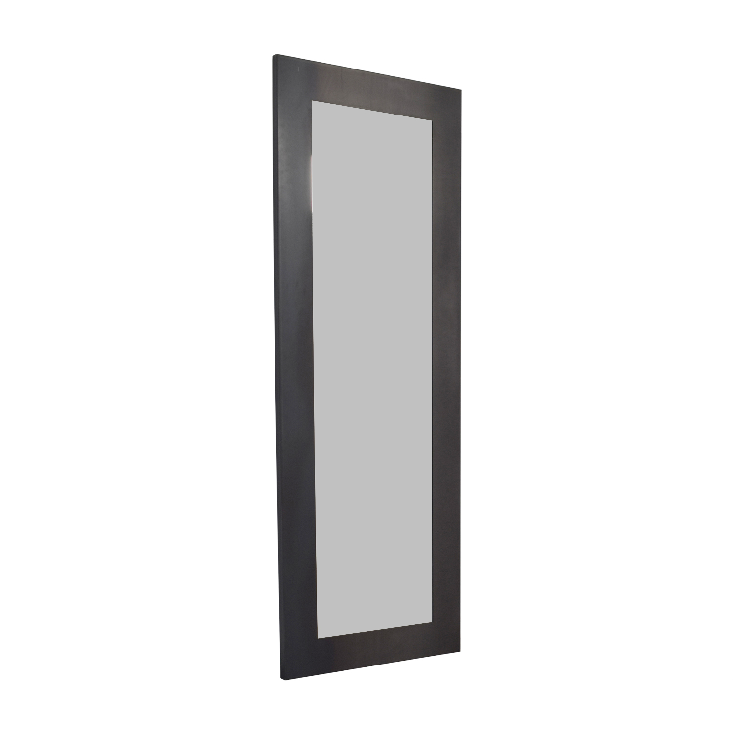 buy Room & Board Room & Board Natural Steel Industry Leaning Mirror online