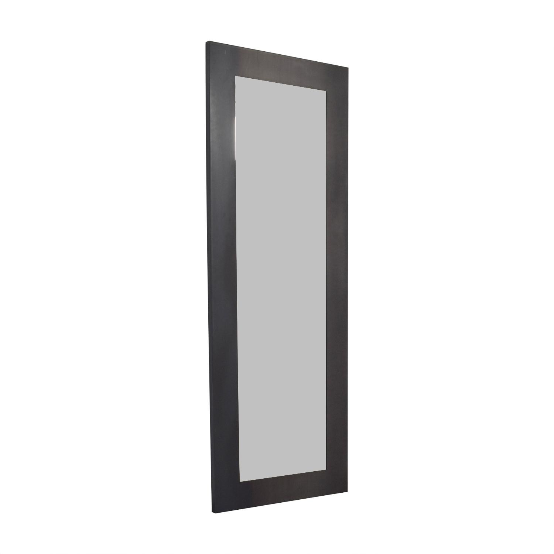 buy Room & Board Room & Board Natural Steel Industry Leaning Mirror online