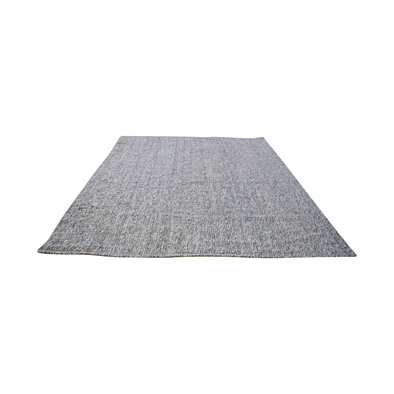 shop Crate & Barrel Grey 5x8 Popcorn Rug Crate & Barrel Decor