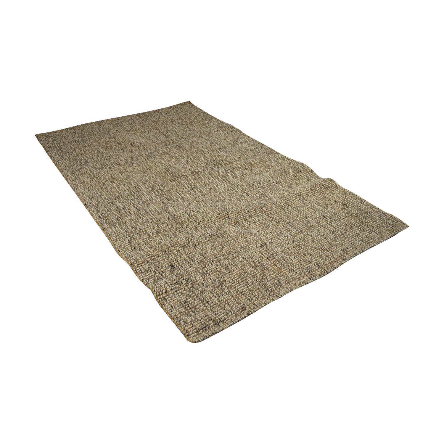Crate & Barrel Crate & Barrel Grey Popcorn Rug Grey