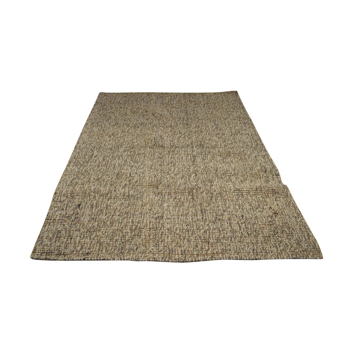 buy Crate & Barrel Grey Popcorn Rug Crate & Barrel Rugs