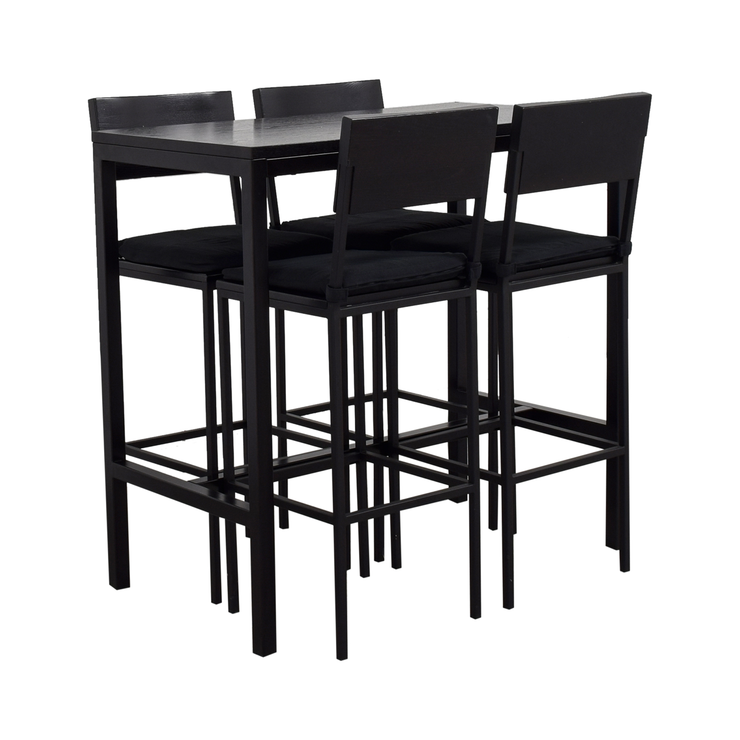Crate & Barrel Crate & Barrel Black Tall Kitchen Dining Set Tables