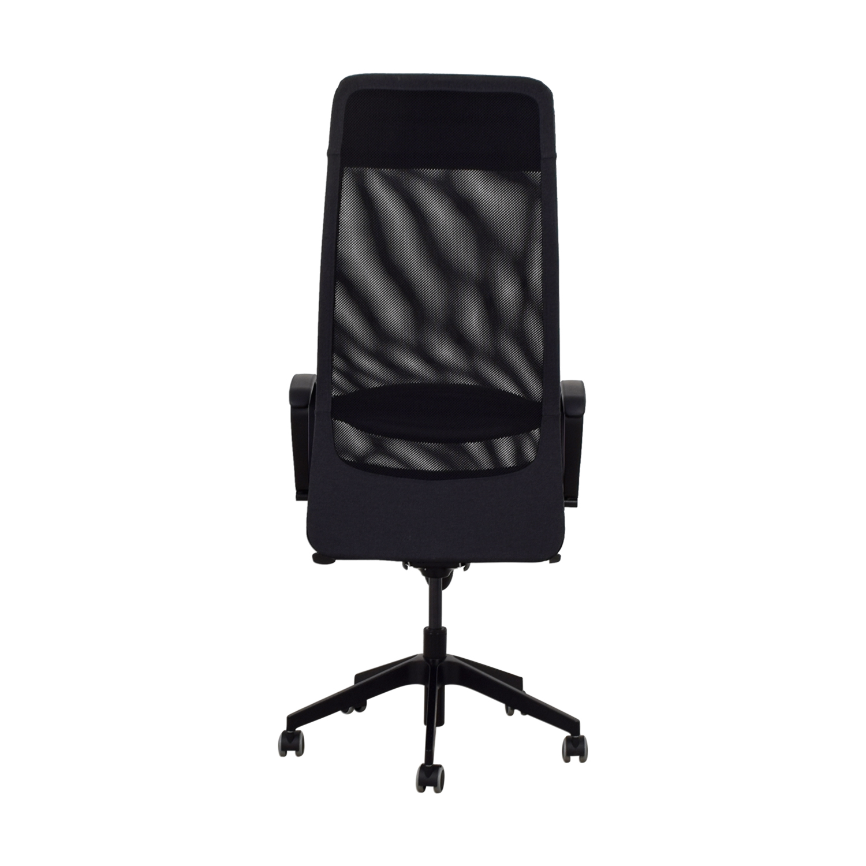 IKEA IKEA Black Office Chair / Chairs