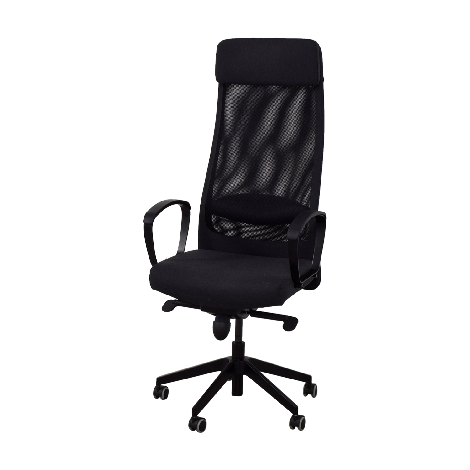 Home Chair: IKEA IKEA Black Office Chair / Chairs