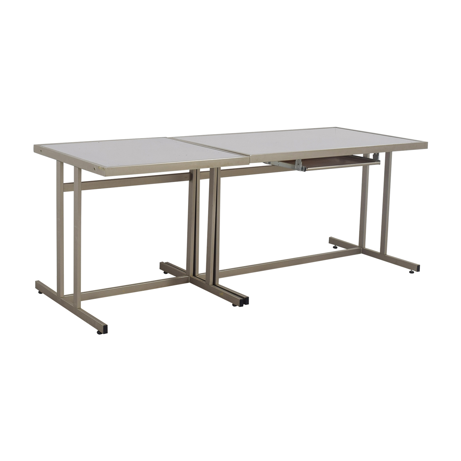 ... West Elm Modern Desk With Pull Out Tray / Tables ...