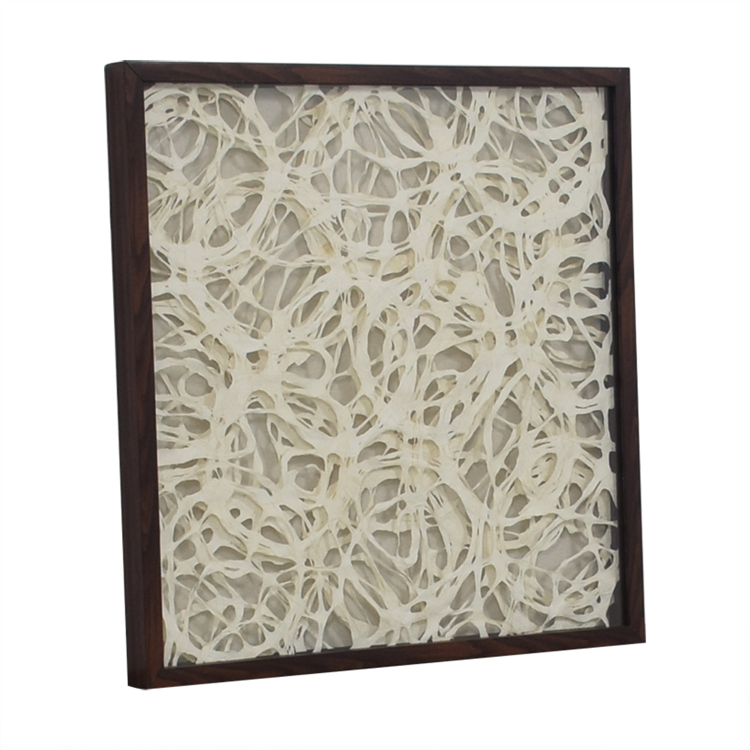 buy Overlapping Strings Wood Framed Art  Wall Art