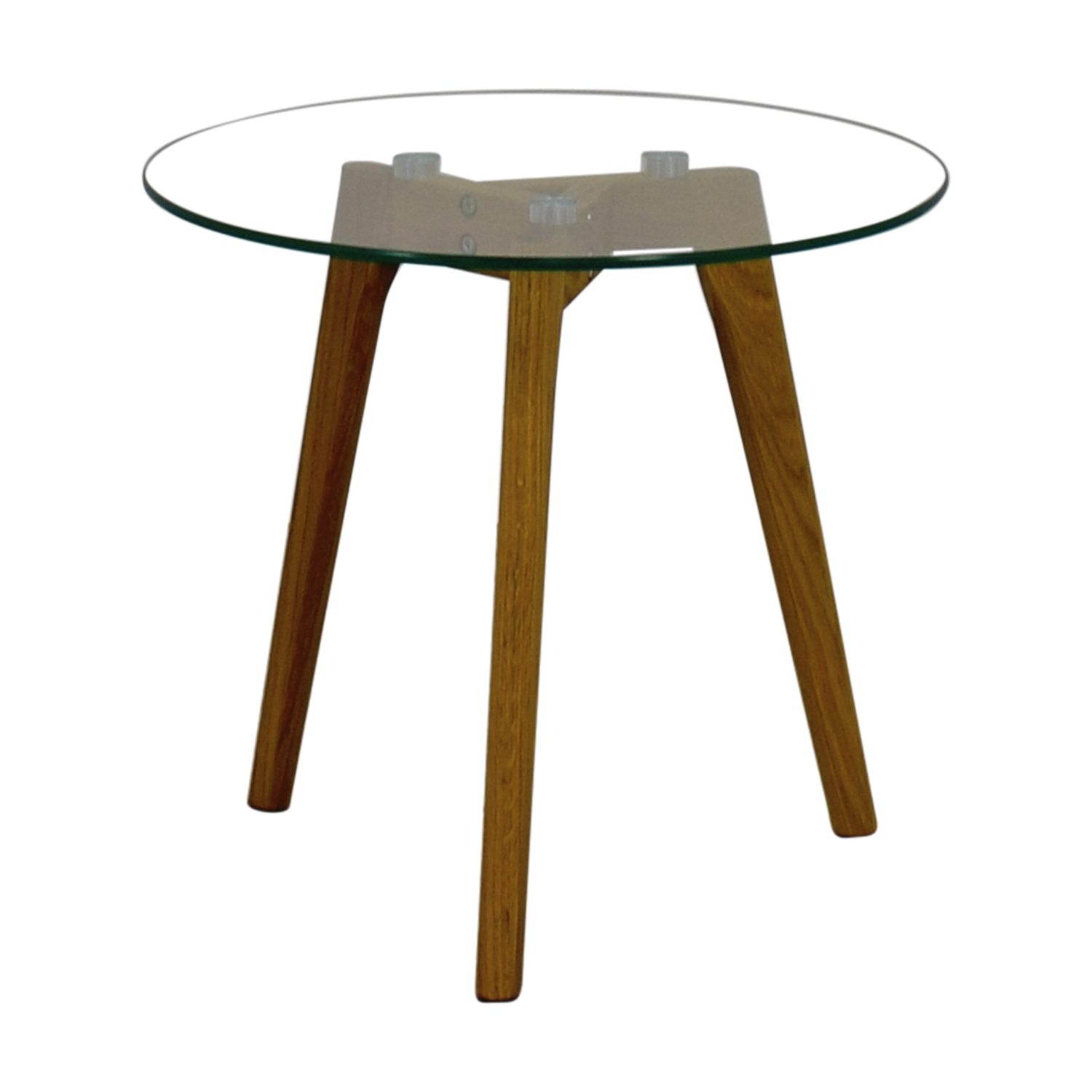 glass side table. Monarch Tripod Round Glass Side Table Coupon