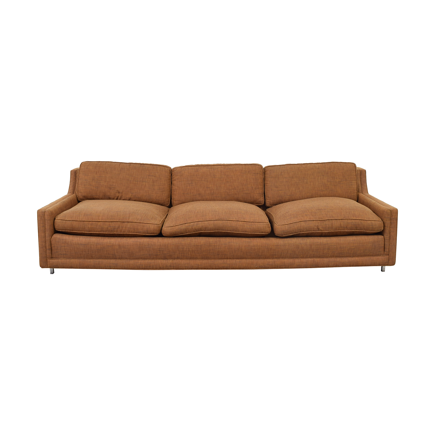 Brown Three-Cushion Sofa coupon